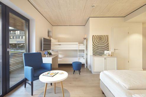 Wände und Decken bestehen aus binderholz Brettsperrholz BBS ©