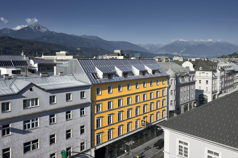 Wohnhausaufstockung in der Museumstraße in Innsbruck © Gerhard Hauser, Alexander Schmid