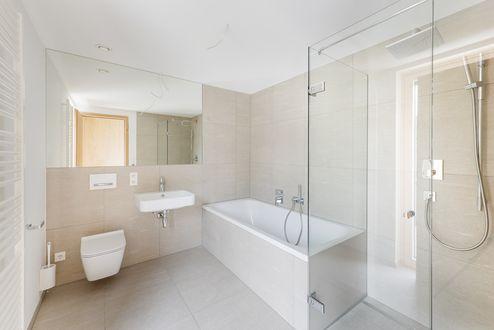 Badezimmer mit Toilette © Foto Gretter / Unterberger Immobilien