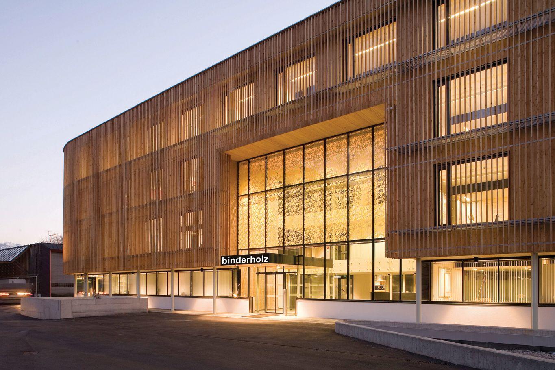 binderholz headquarter Haupteingang