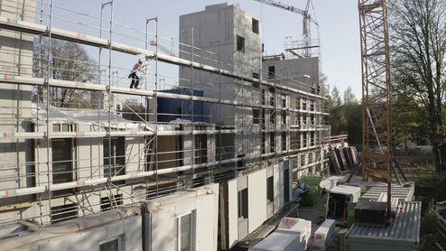 Baustellenübersicht © binderholz